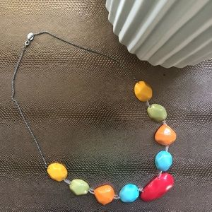 Colorful Ami Statement Necklace